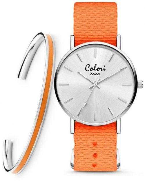 COLORI xoxo Orange Fabric Strap Set
