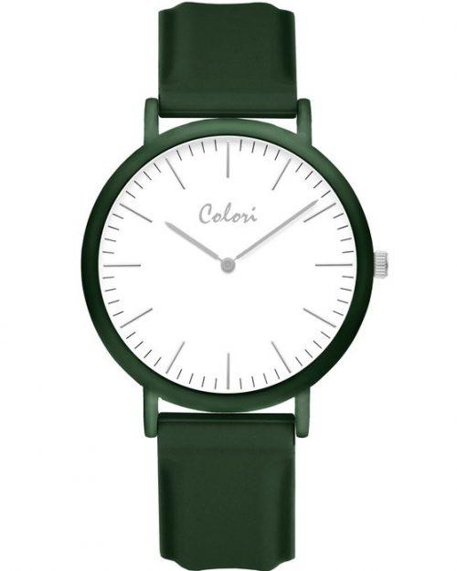 COLORI Essentials Green Silicone Strap