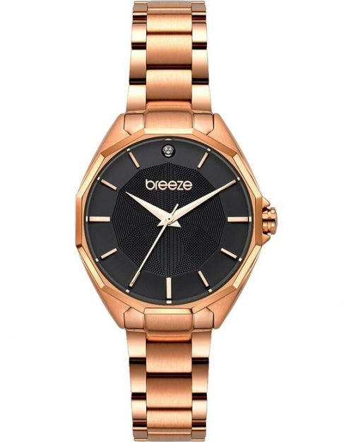 BREEZE Hermosa Rose Gold Stainless Steel Bracelet 212151.6