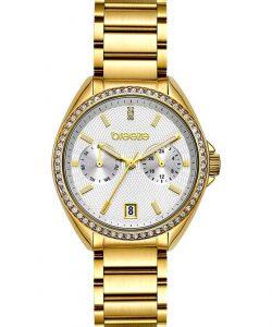 BREEZE Royalisse Gold Stainless Steel Bracelet