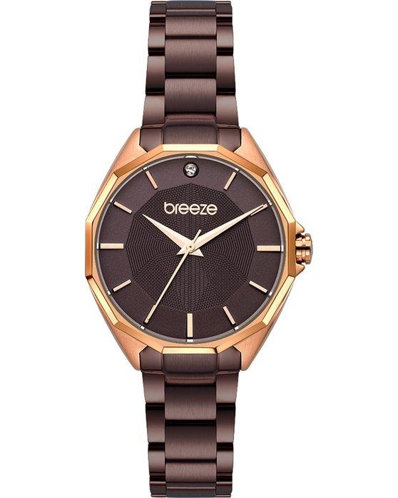 BREEZE Hermosa Brown Stainless Steel Bracelet