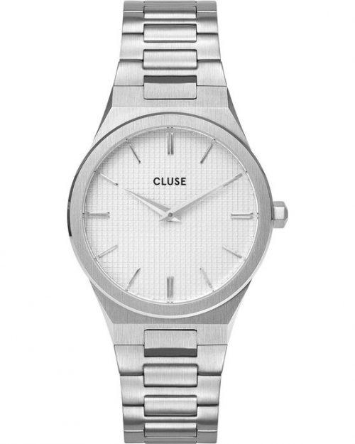 CLUSE Vigoureux 33 Silver Stainless Steel Bracelet