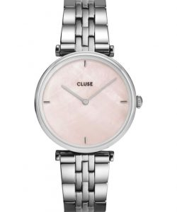 CLUSE Triomphe Silver Stainless Steel Bracelet