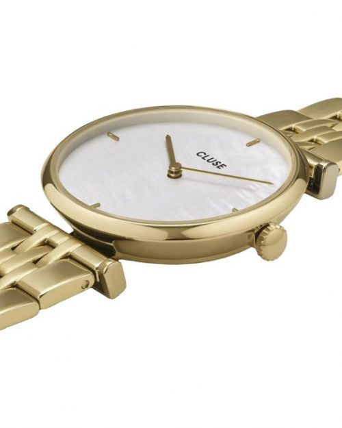 CLUSE Triomphe Gold Stainless Steel Bracelet