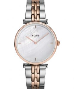 CLUSE Triomphe Two Tone Stainless Steel Bracelet