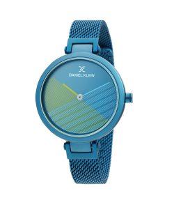 DANIEL KLEIN Blue Stainless Steel Bracelet