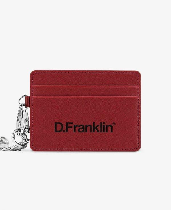 Πορτοφόλι D.Franklin Κόκκινο DFKWAL002-0003