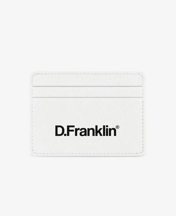 Πορτοφόλι-Θήκη για κάρτες D.Franklin Άσπρο DFKWAL001-0001