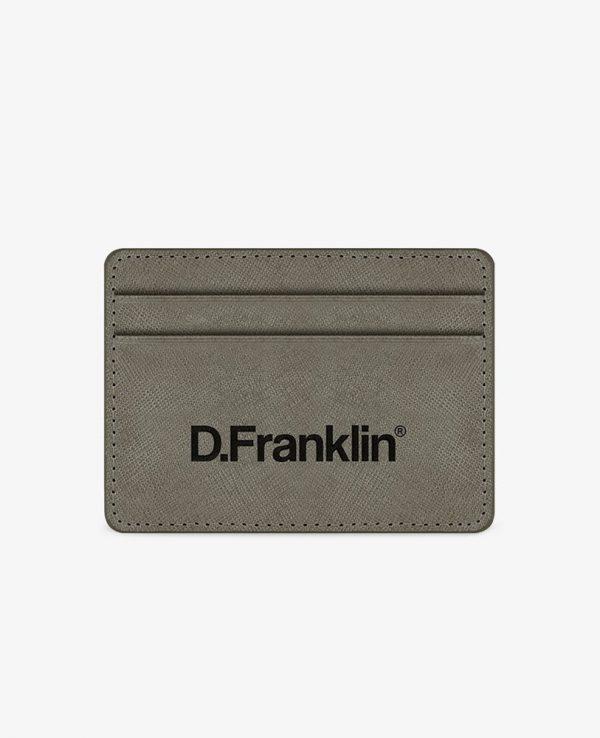 Πορτοφόλι-Θήκη για κάρτες D.Franklin Γκρι DFKWAL001-0044
