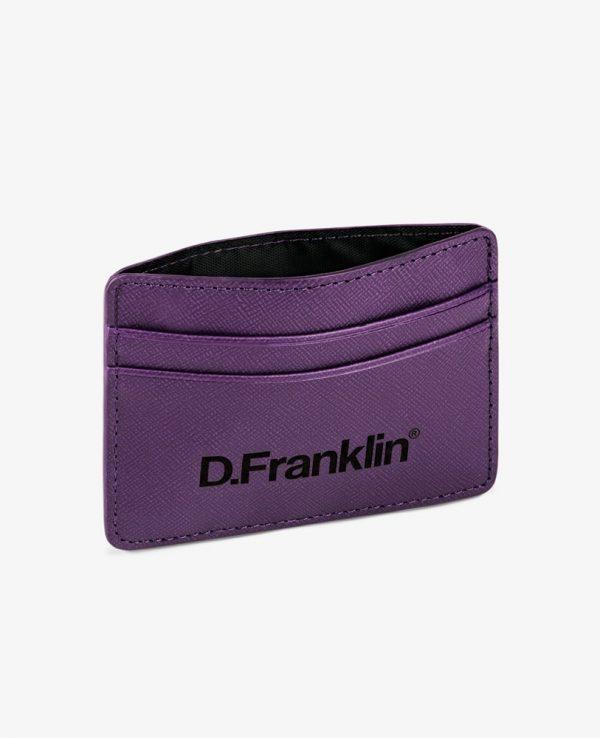 Πορτοφόλι-Θήκη για κάρτες D.Franklin Μωβ DFKWAL001-0039