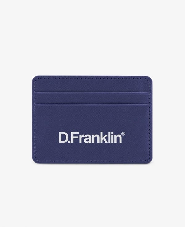 Πορτοφόλι-Θήκη για κάρτες D.Franklin Μπλε DFKWAL001-0002