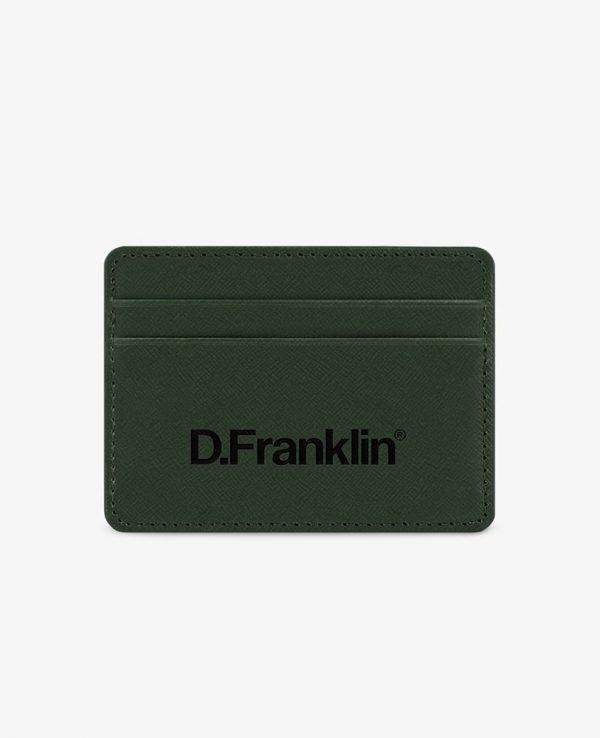 Πορτοφόλι-Θήκη για κάρτες D.Franklin Πράσινο DFKWAL001-0052