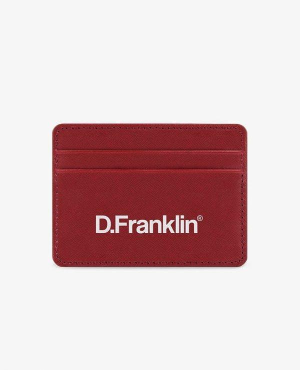 Πορτοφόλι-Θήκη για κάρτες D.Franklin Κόκκινο DFKWAL001-0003