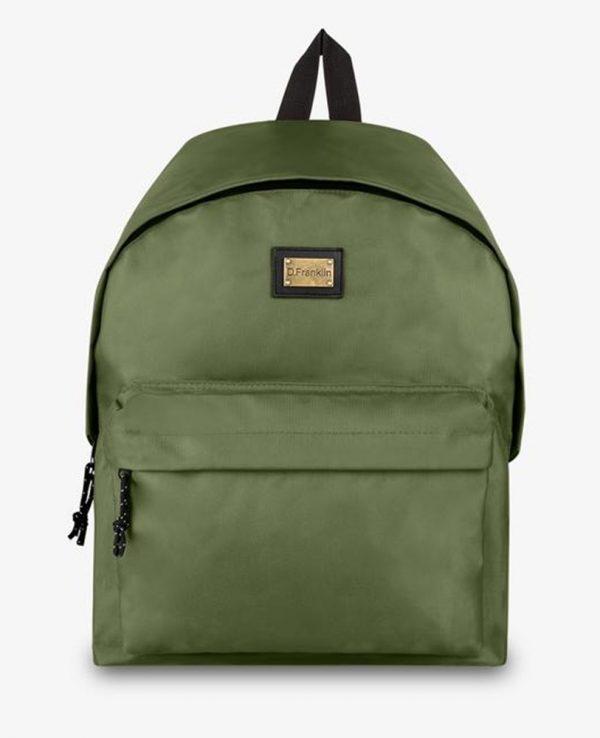 Backpack D.Franklin Πράσινο DFKPAC132-0052
