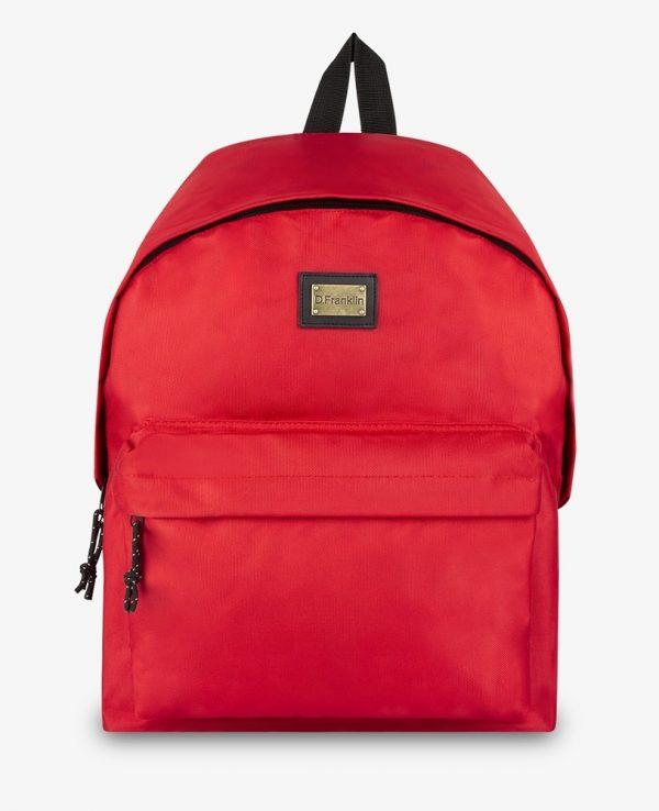 Backpack D.Franklin Κόκκινο DFKPAC134-0003