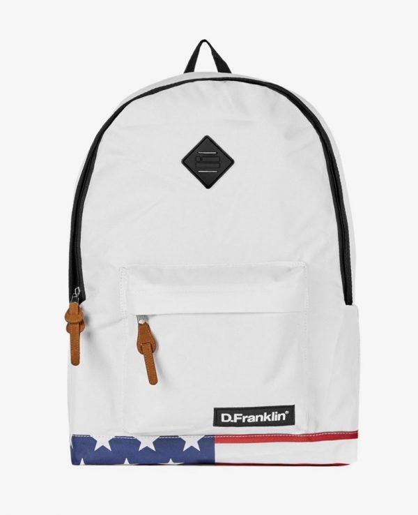 Backpack D.Franklin Άσπρο HVKMPAC114-0001