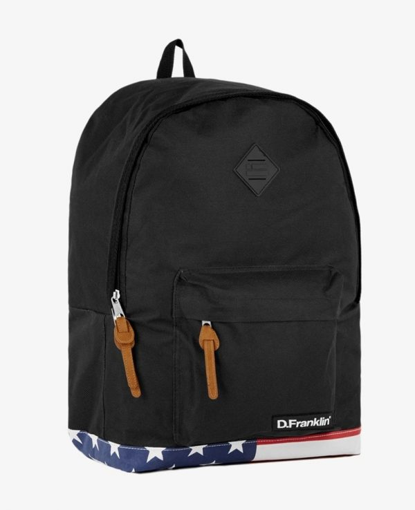 Backpack D.Franklin Μαύρο HVKMPAC114-0020