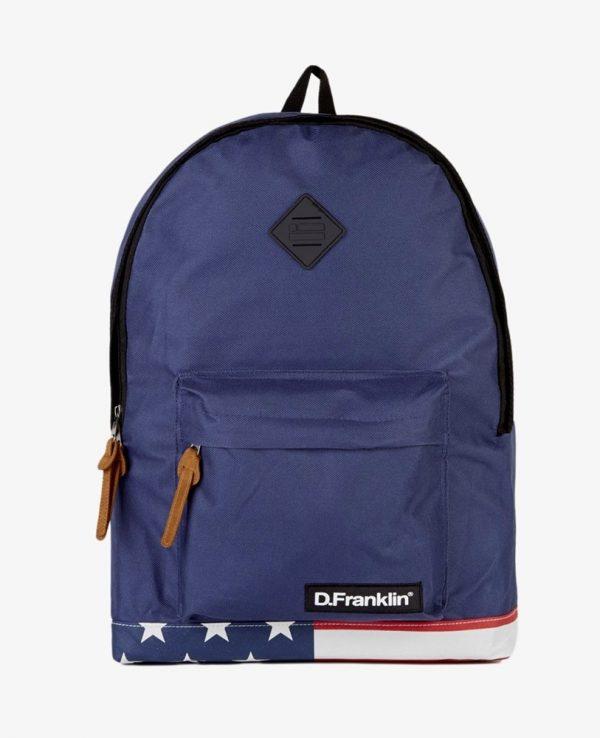 Backpack D.Franklin Μπλε HVKMPAC114-0058