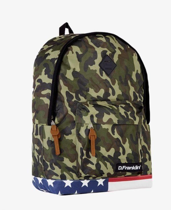 Backpack D.Franklin Παραλλαγης HVKMPAC114-0218