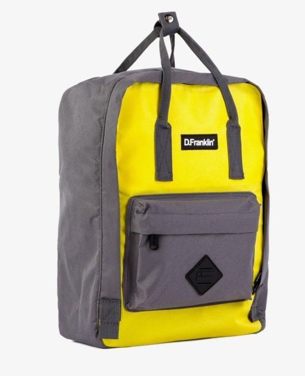 Backpack D.Franklin Κίτρινο GIKMPAC109-0006