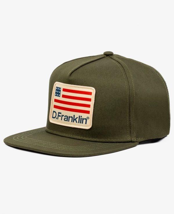 Καπέλο D.Franklin Χακί DFKSNA211-0052