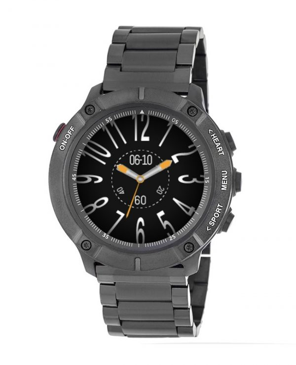 3GUYS SMARTWATCH CHRONOGRAPH black stainless steel bracelet 3GW3503