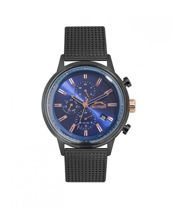 SLAZENGER Black SS Mesh Bracelet SL.09.6278.2.03SL.09.6288.2.02