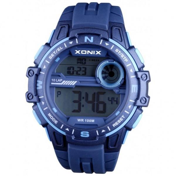 XONIX Men CY-003 Blue Rubber Strap