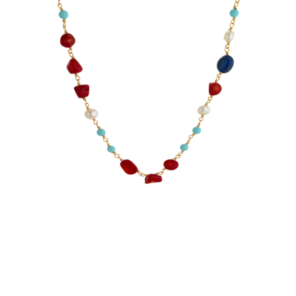 BREEZE Necklace, Alloy, Gold-tone plated 410032.1a