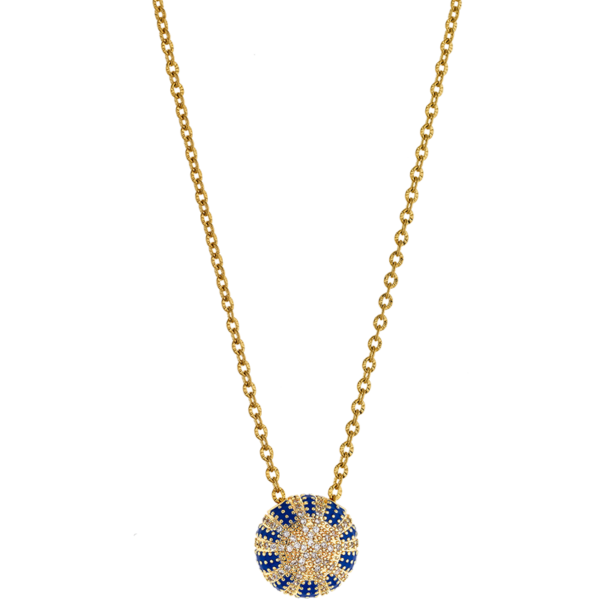 BREEZE Dazzling Reflections Necklace, Stainless steel, Gold-tone plated 410039.1