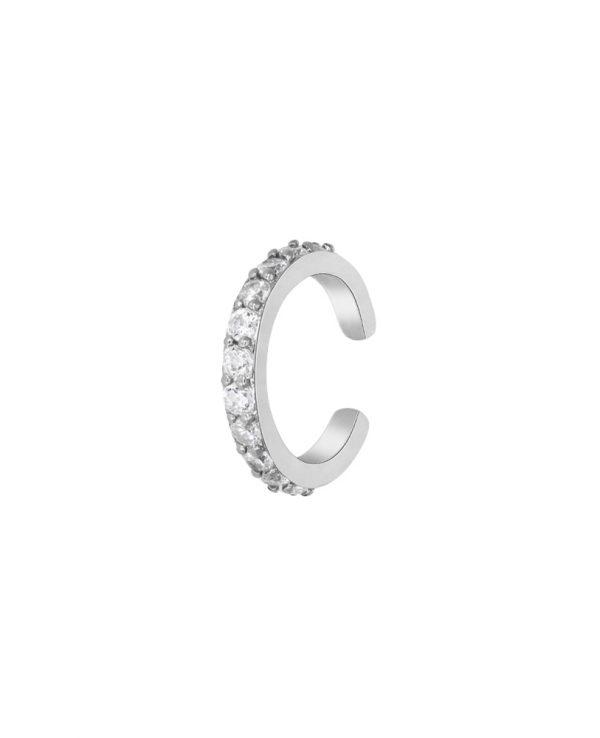 Ασημένια σκουλαρίκια Marea Silver D02001-BV