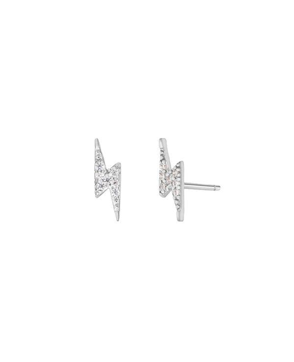 Ασημένια σκουλαρίκια Marea Silver D02001-CO