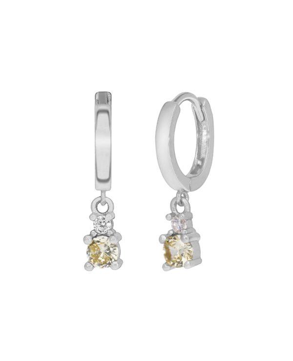 Ασημένια σκουλαρίκια Marea Silver D02001-AU