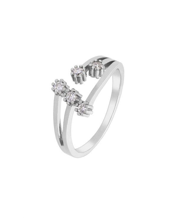 Ασημένιο δαχτυλίδι Marea Silver D02006-AK