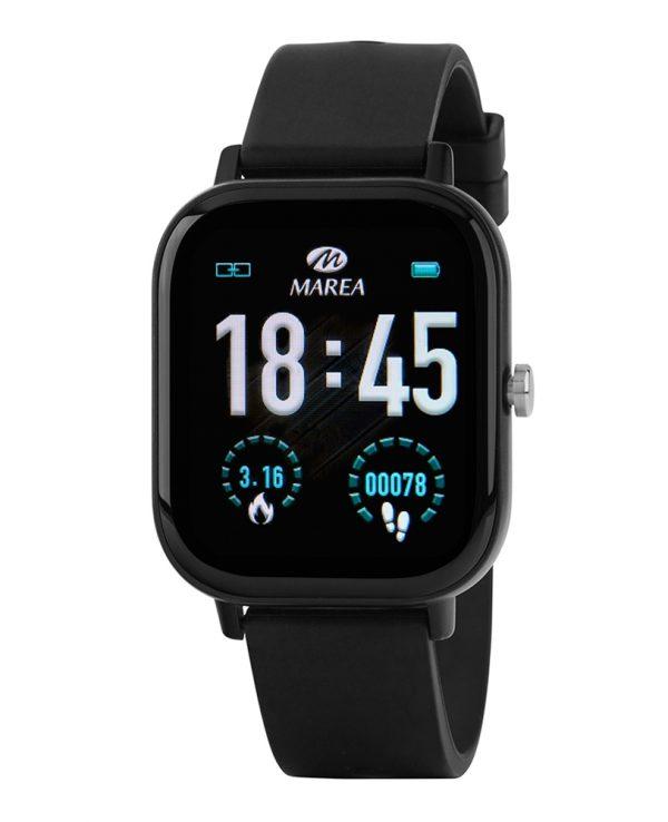 Smart Watch Marea Β58007-1 Μαύρο